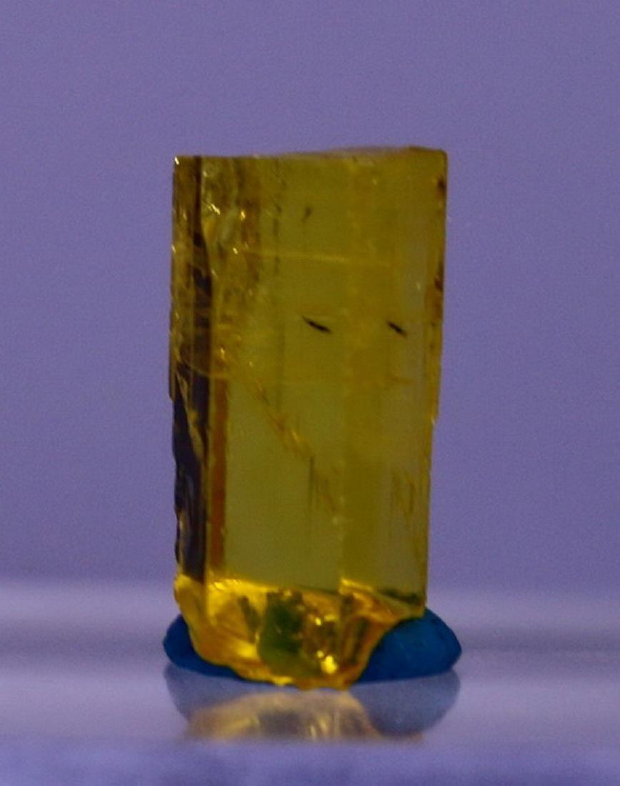 Natural & Unheated - Yellow Beryl Heliodor Crystal