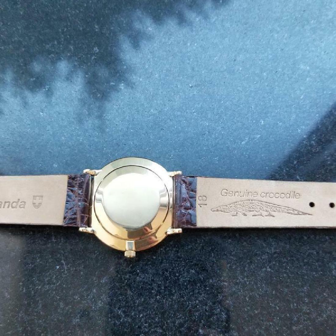 PATEK PHILIPPE Men's 18K Solid Gold Calatrava 3468 - 6