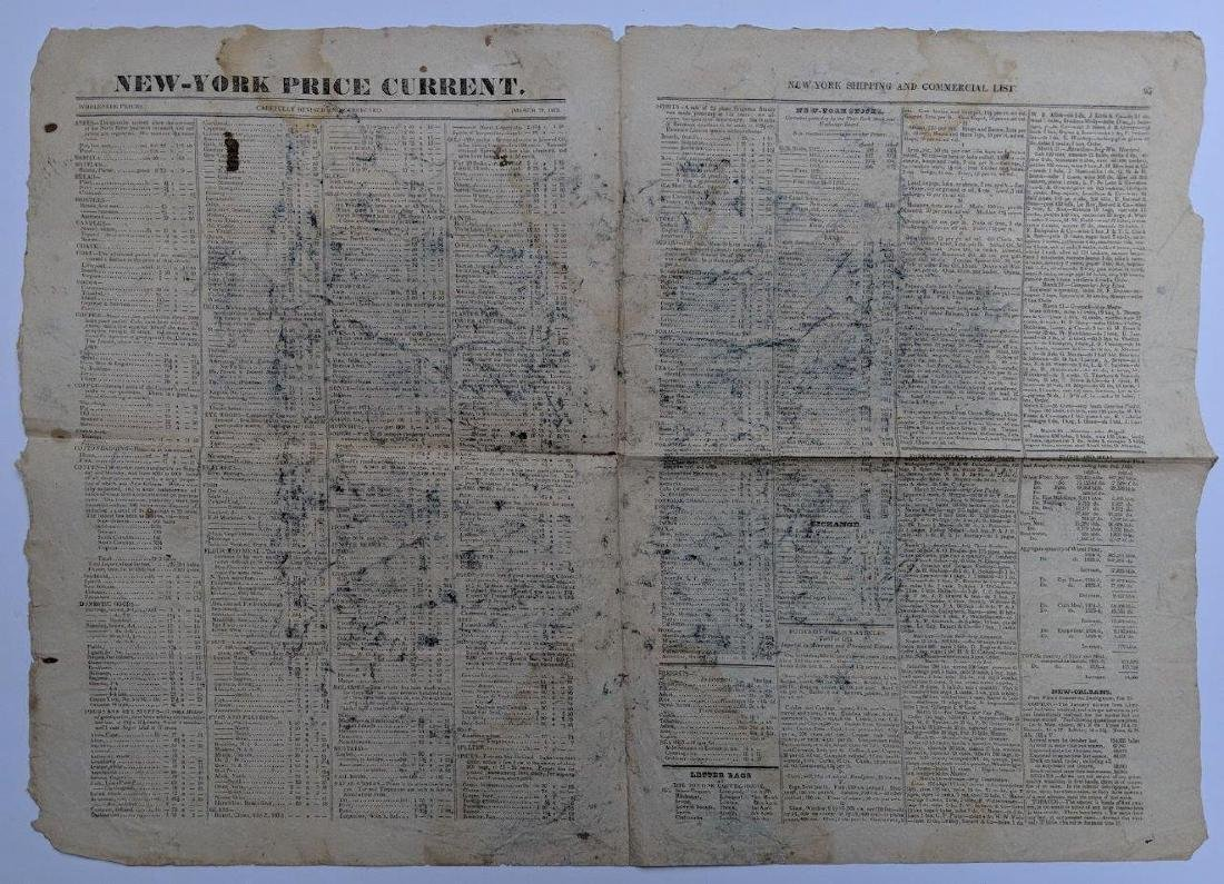 1825 NEW YORK NY NYC SHIPPING & COMMERCIAL LIST - 2