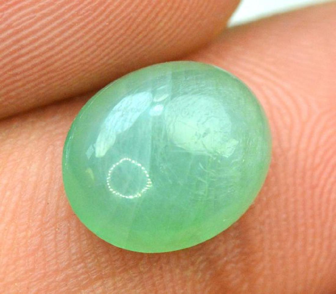 3.20 cts Oval Shape Rare Grandidierite Cabochon From