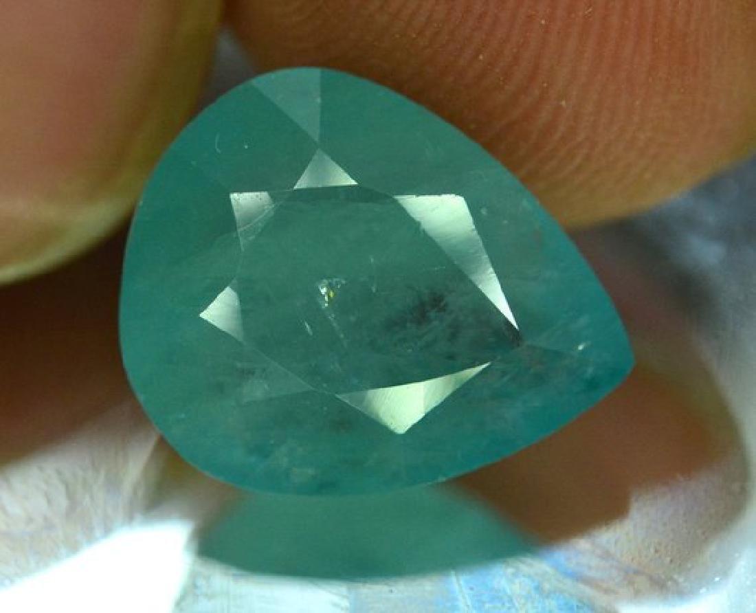 5.15 cts Rare Grandidierite Gemstone From Madagascar ~