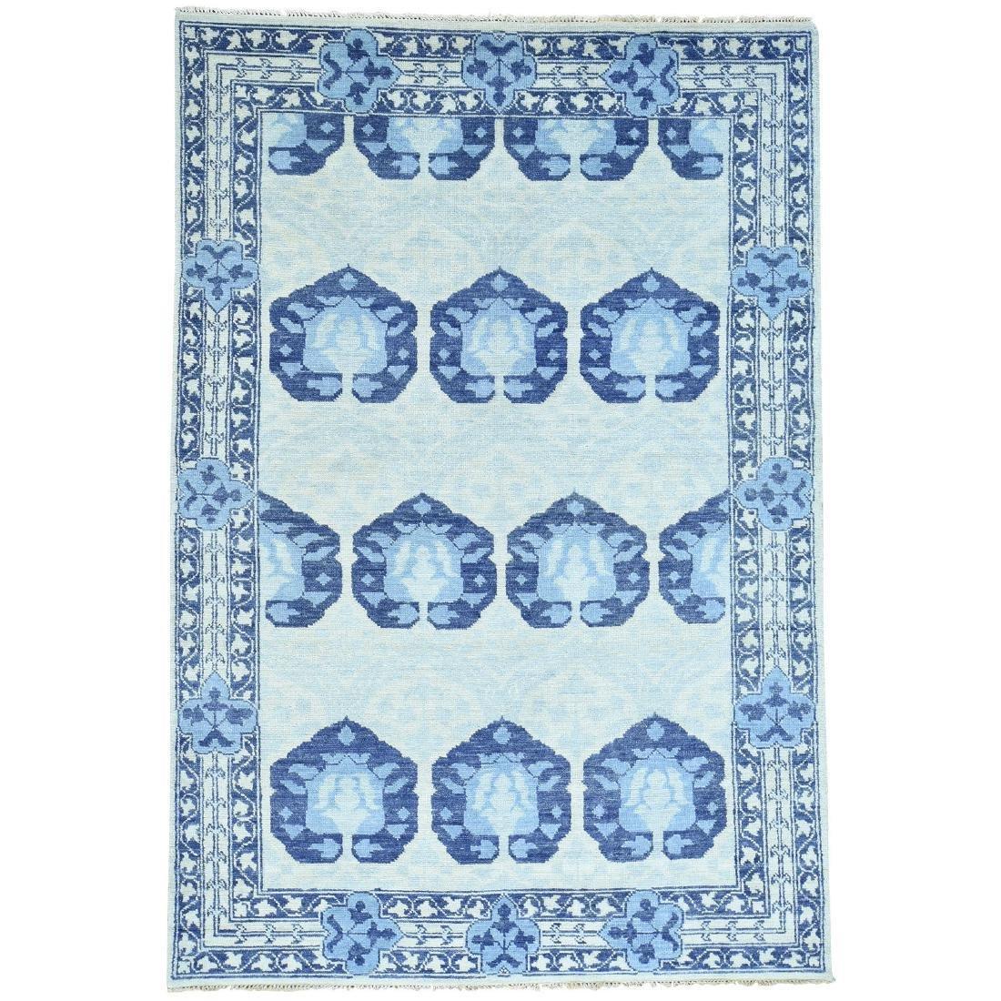 Hand Spun Wool Modern Arts And Crafts Oriental