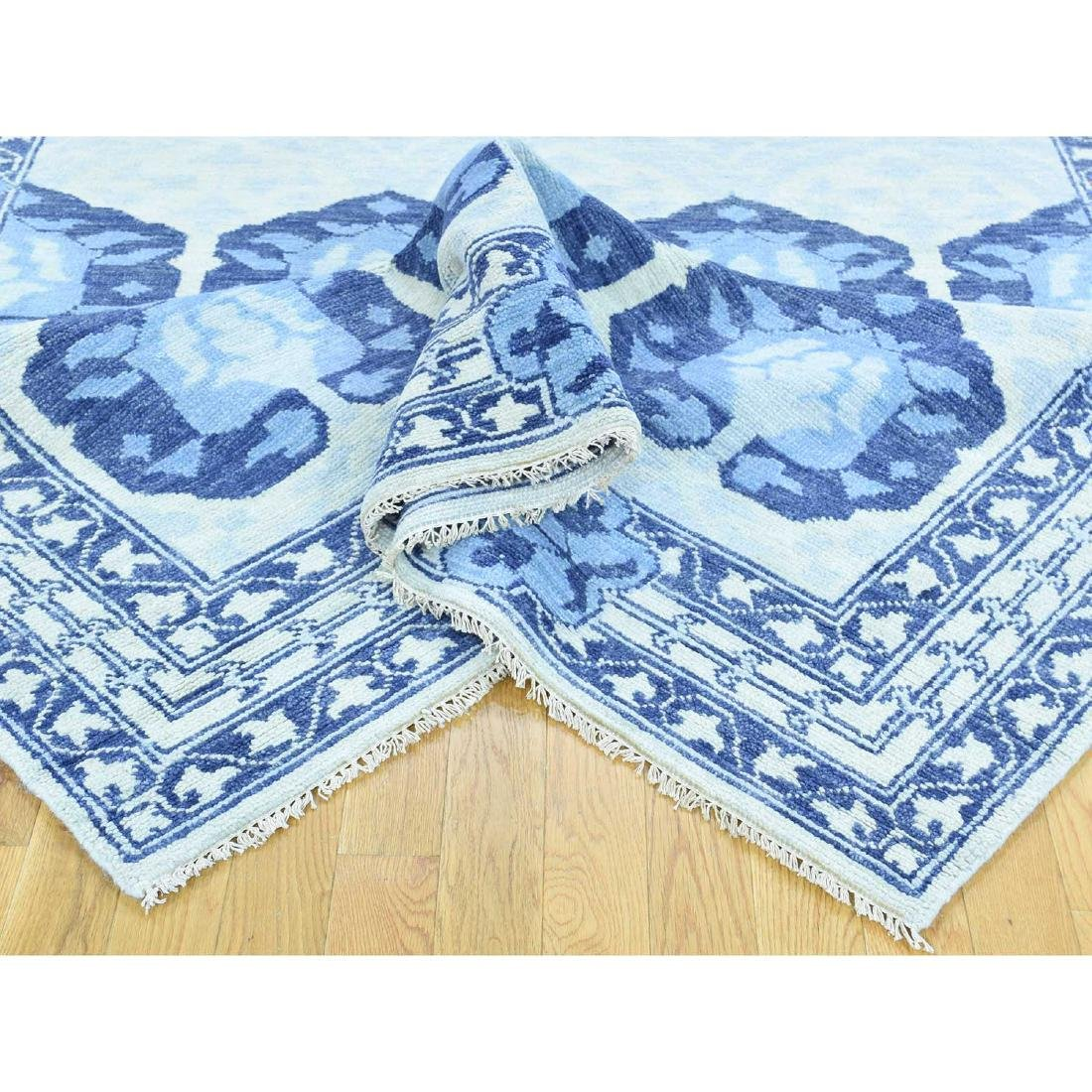 Hand Spun Wool Modern Arts And Crafts Oriental - 7