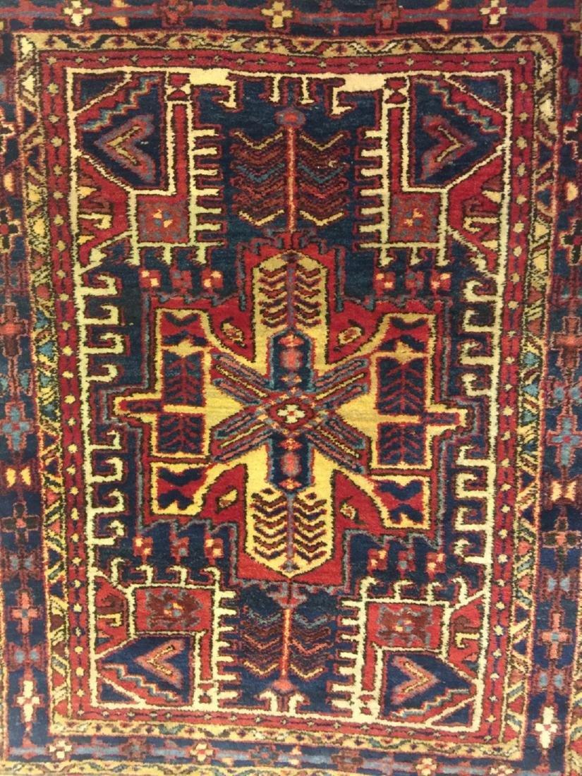 Hand Woven Persian Rug Heriz 4.7x3.8 - 6