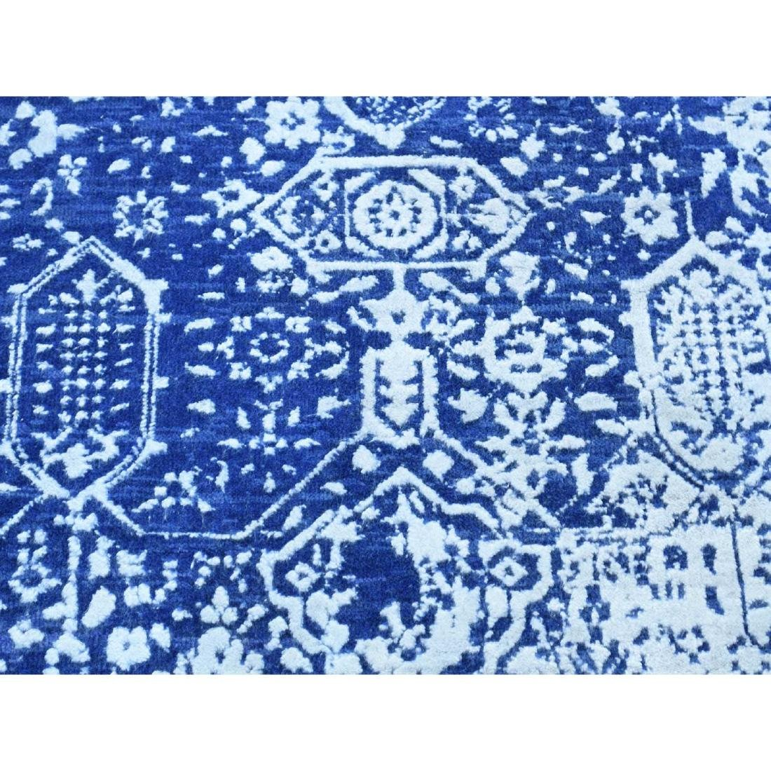 Wool and Silk Hand-Knotted Broken Persian Design - 9