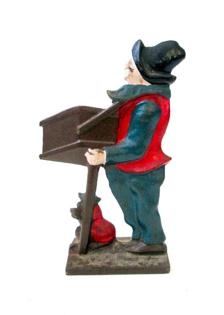 Organ Grinder With Monkey Doorstop - 3