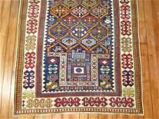 Antique Caucasian Akstafa Kazak Shirvan Rug Size