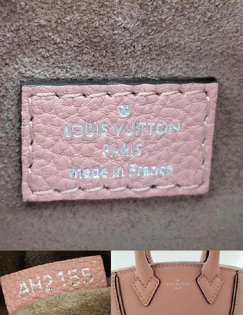 Louis Vuitton Soft Lockit Handbag Leather Nano - 10