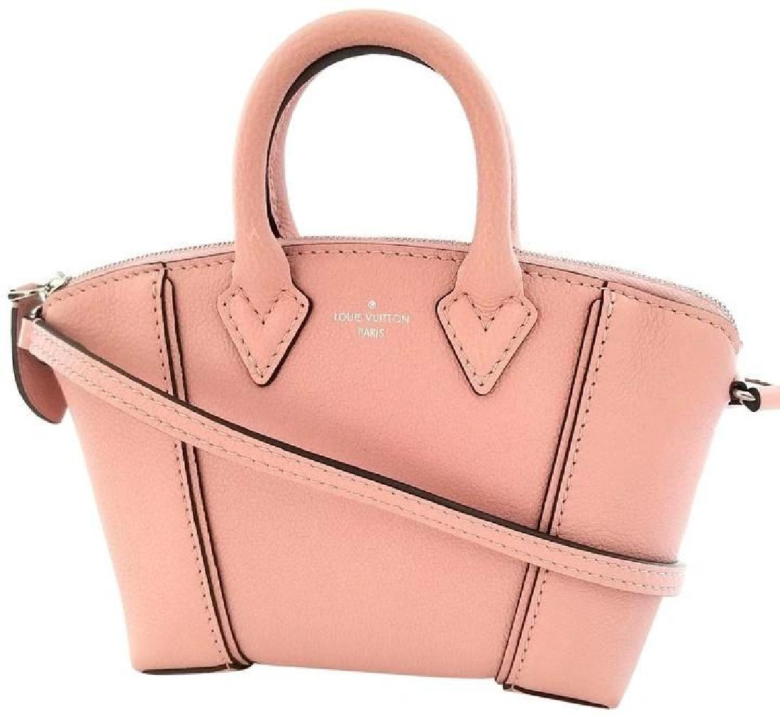 Louis Vuitton Soft Lockit Handbag Leather Nano