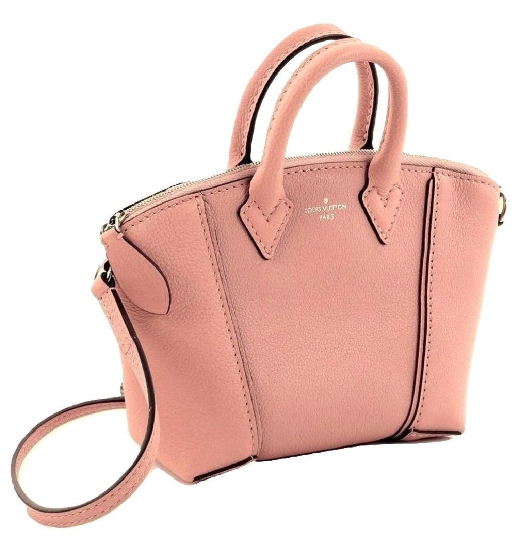 Louis Vuitton Soft Lockit Handbag Leather Nano - 2