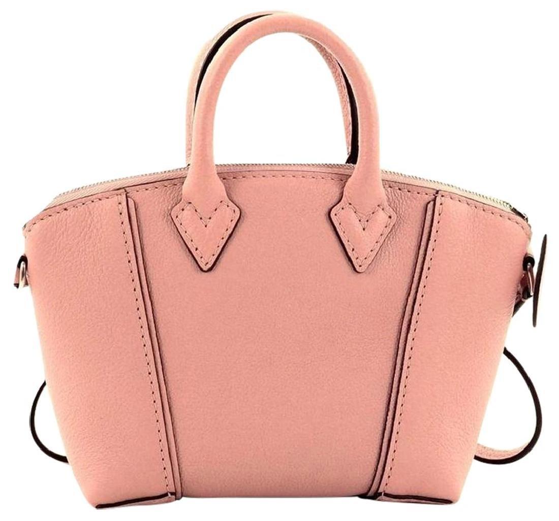Louis Vuitton Soft Lockit Handbag Leather Nano - 3