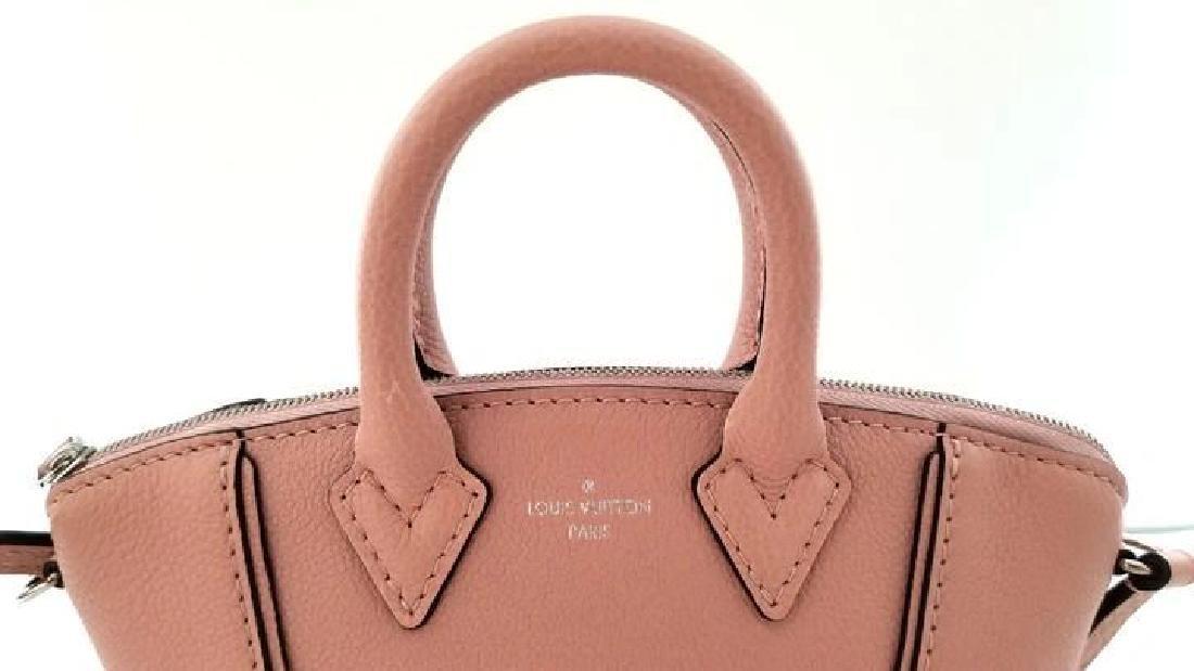 Louis Vuitton Soft Lockit Handbag Leather Nano - 5