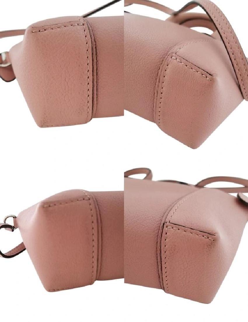 Louis Vuitton Soft Lockit Handbag Leather Nano - 9