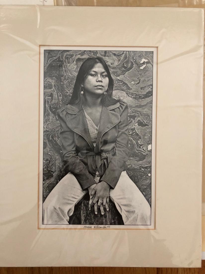 TOM WEIR Gelatin silver print - 1973 - ALLELUIA