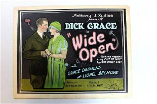 Wide Open ( Sunset Productions, 1927) Title Card