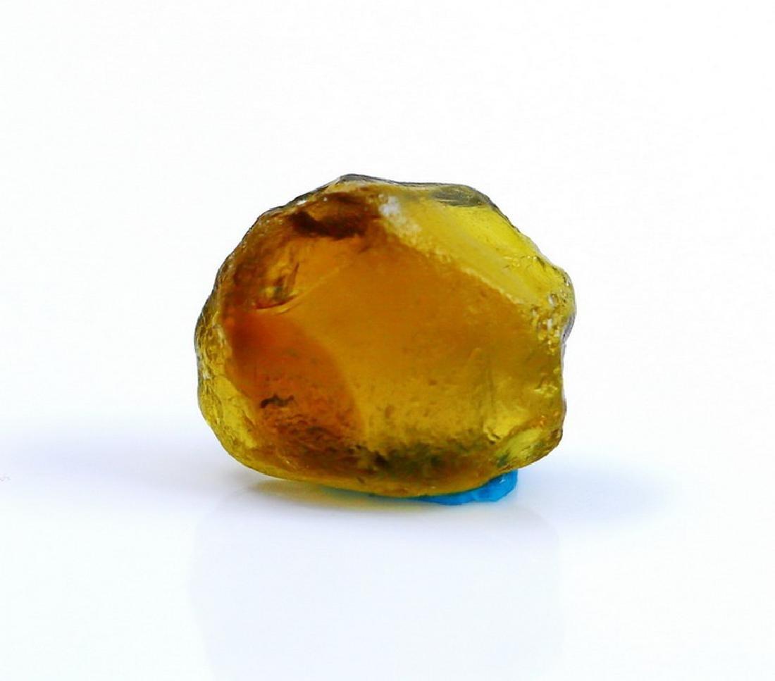 Natural & Unheated~Yellow Green Tourmaline Rough