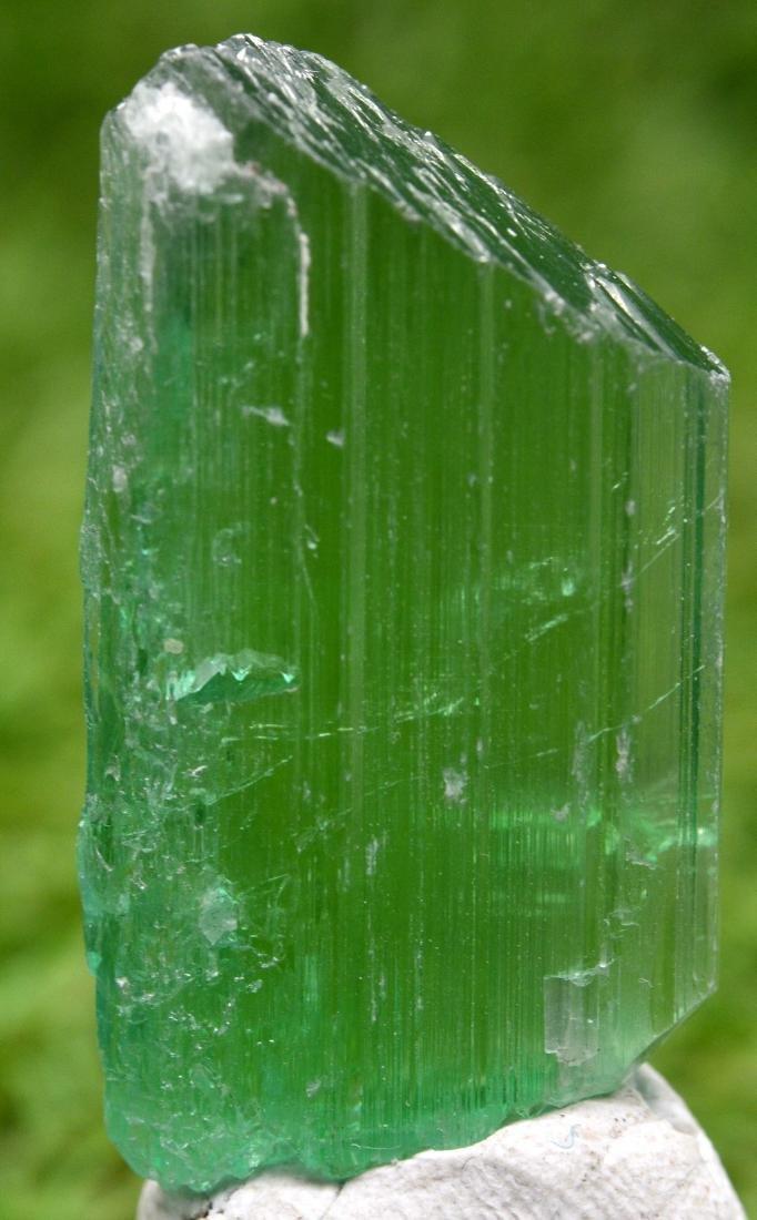 17 Grams Lush Green Kunzite Crystal