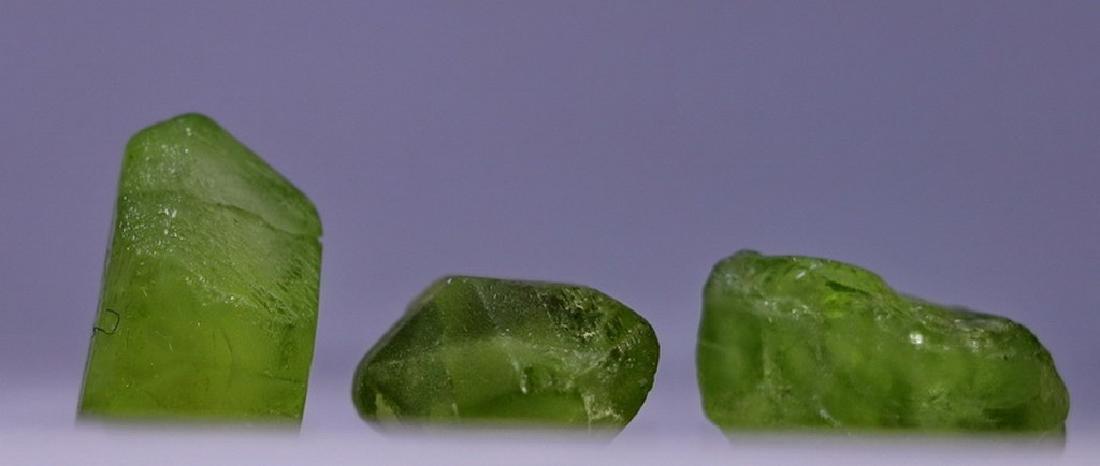 Natural & Unheated~ Green Peridot Rough Lot