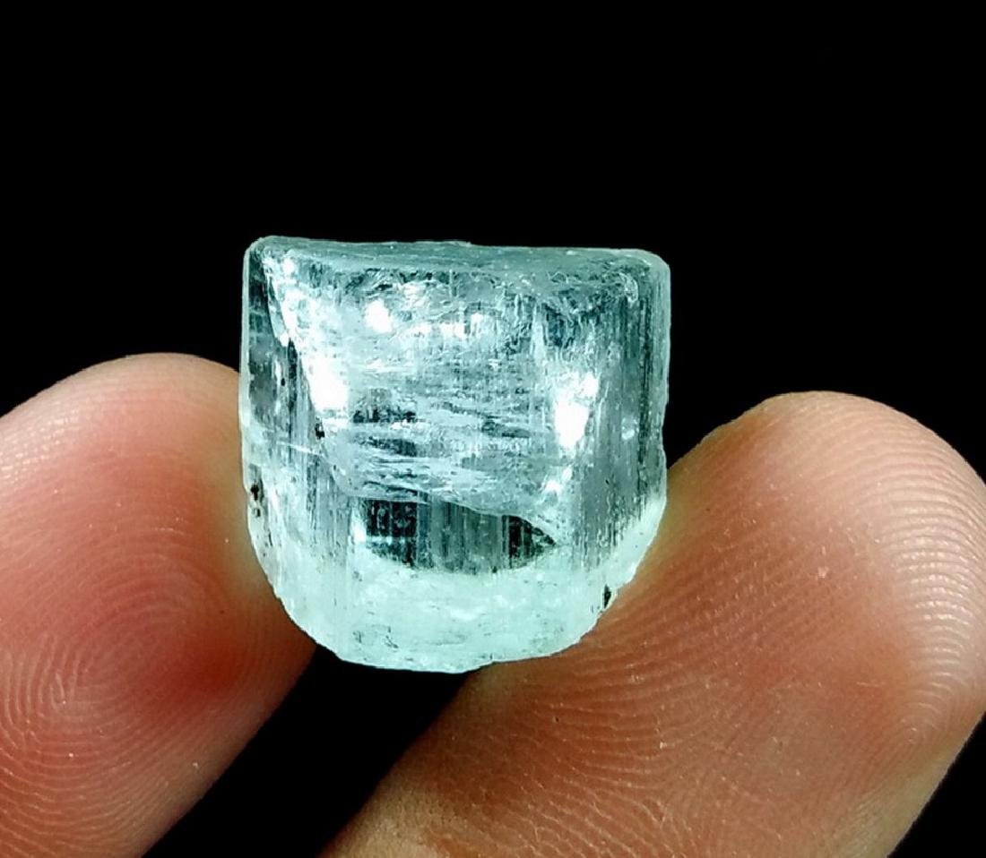Natural & Unheated~ Sky Blue Aquamarine Rough Crystal