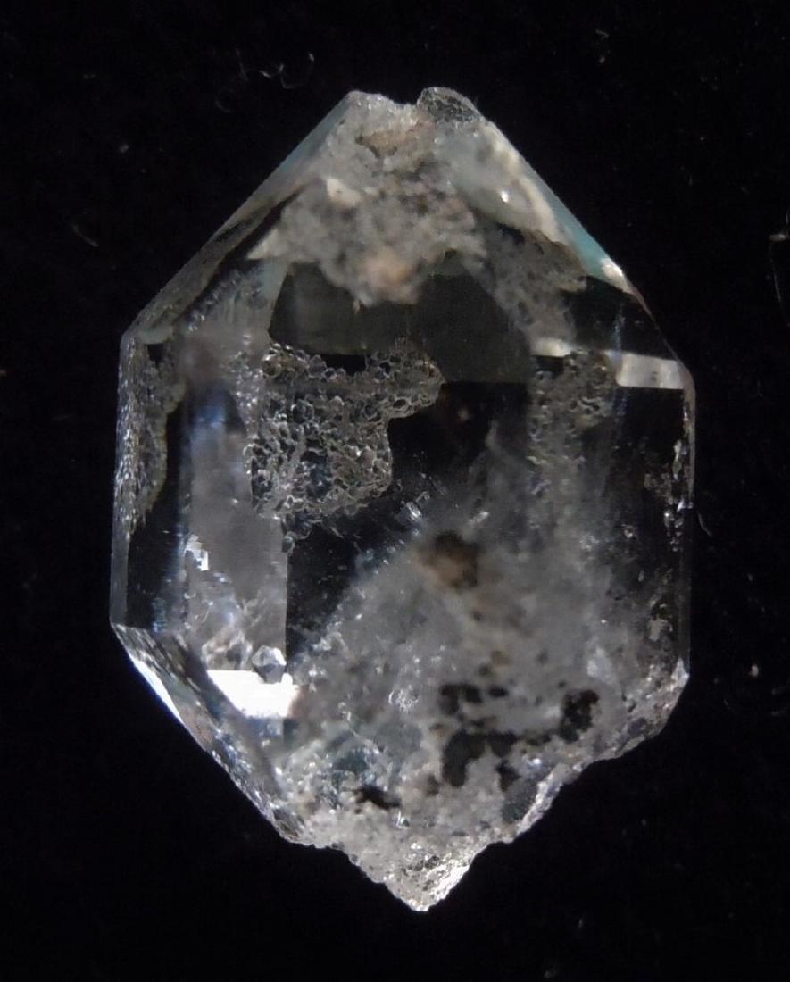 CLEAR , GENUINE HERKIMER DIAMOND