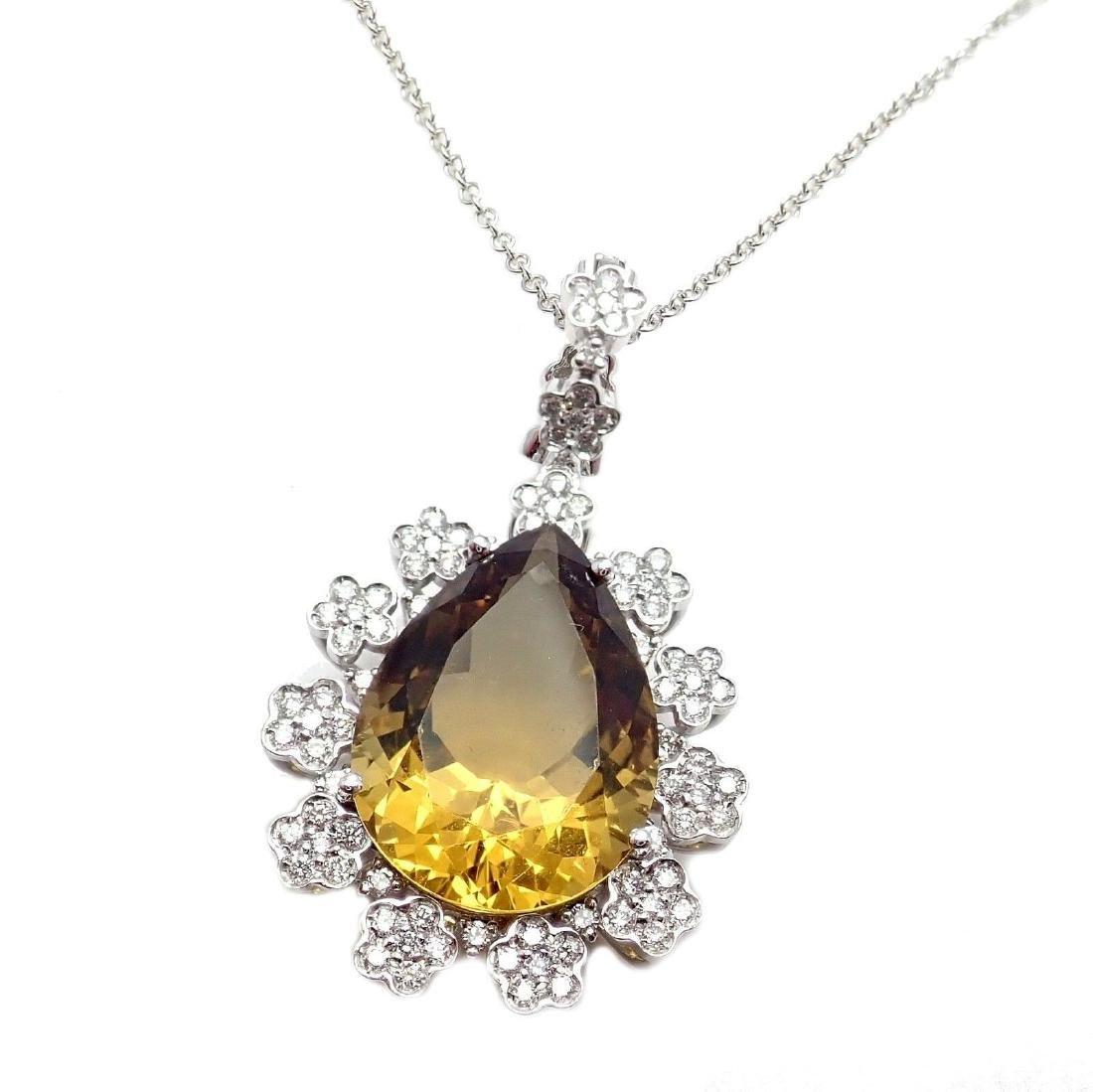 Authentic Pasquale Bruni Marilyn 18k White Gold Diamond