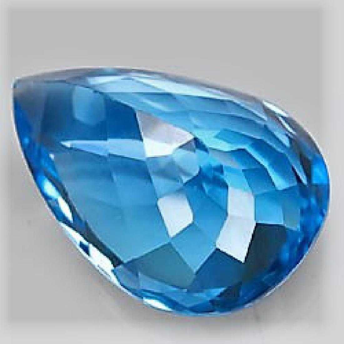 30,11 ct Blue Topaz