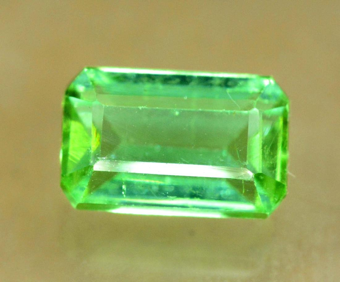 2.35 carats Untreated Green Color Tourmaline Loose