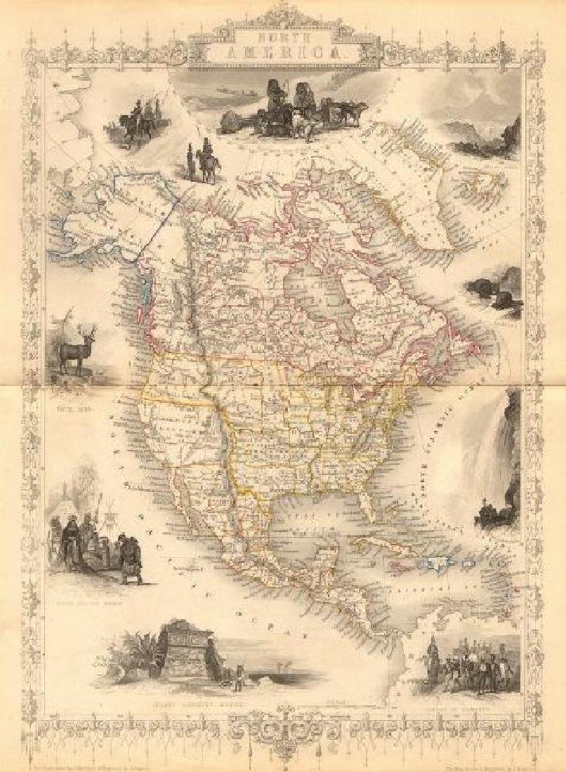 NORTH AMERICA. 30 US states. Mexican California.
