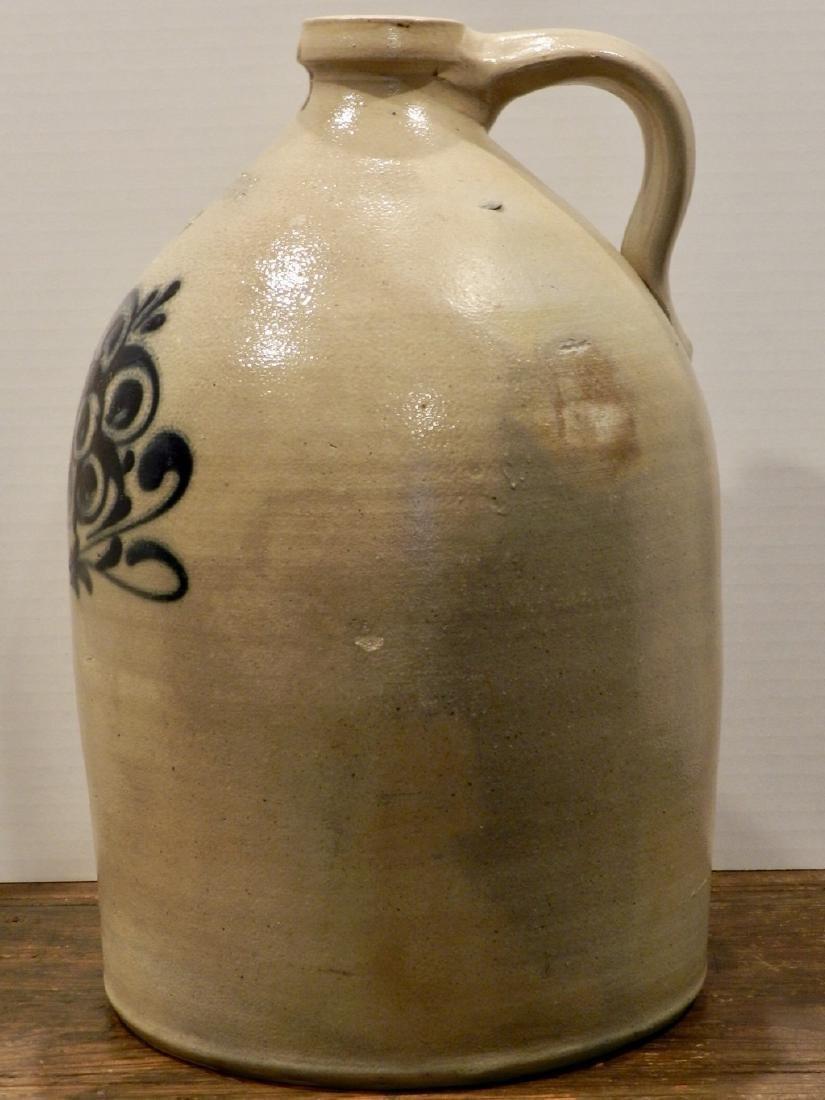 J & E Norton Decorated Stoneware Jug - 5
