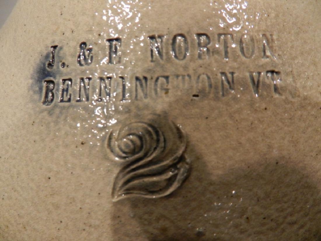 J & E Norton Decorated Stoneware Jug - 6