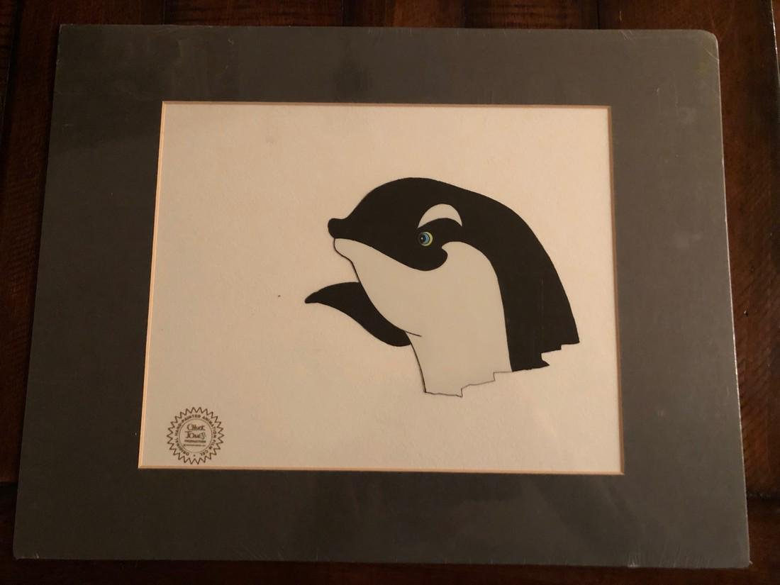 THE WHITE SEAL Animation Cel