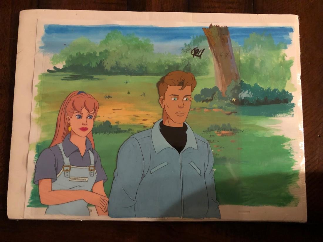 GHOSTBUSTERS Animation Cel