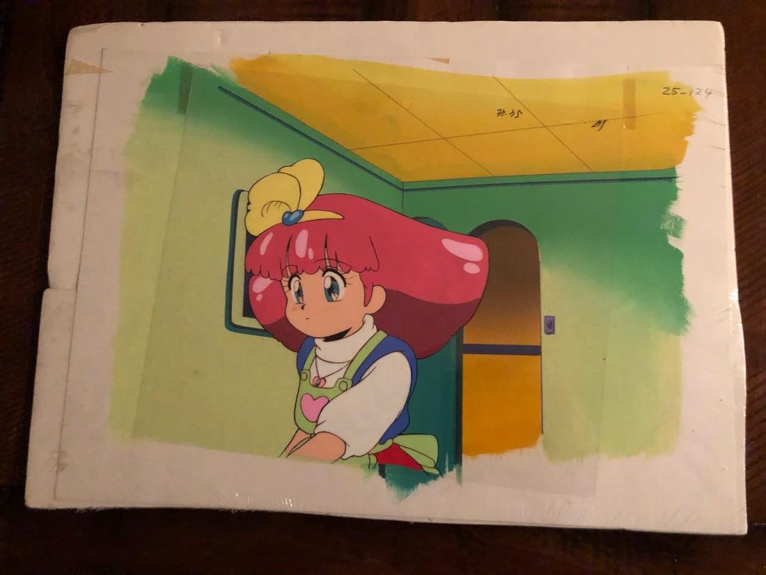 Floral Magician Mary Bell animation cel