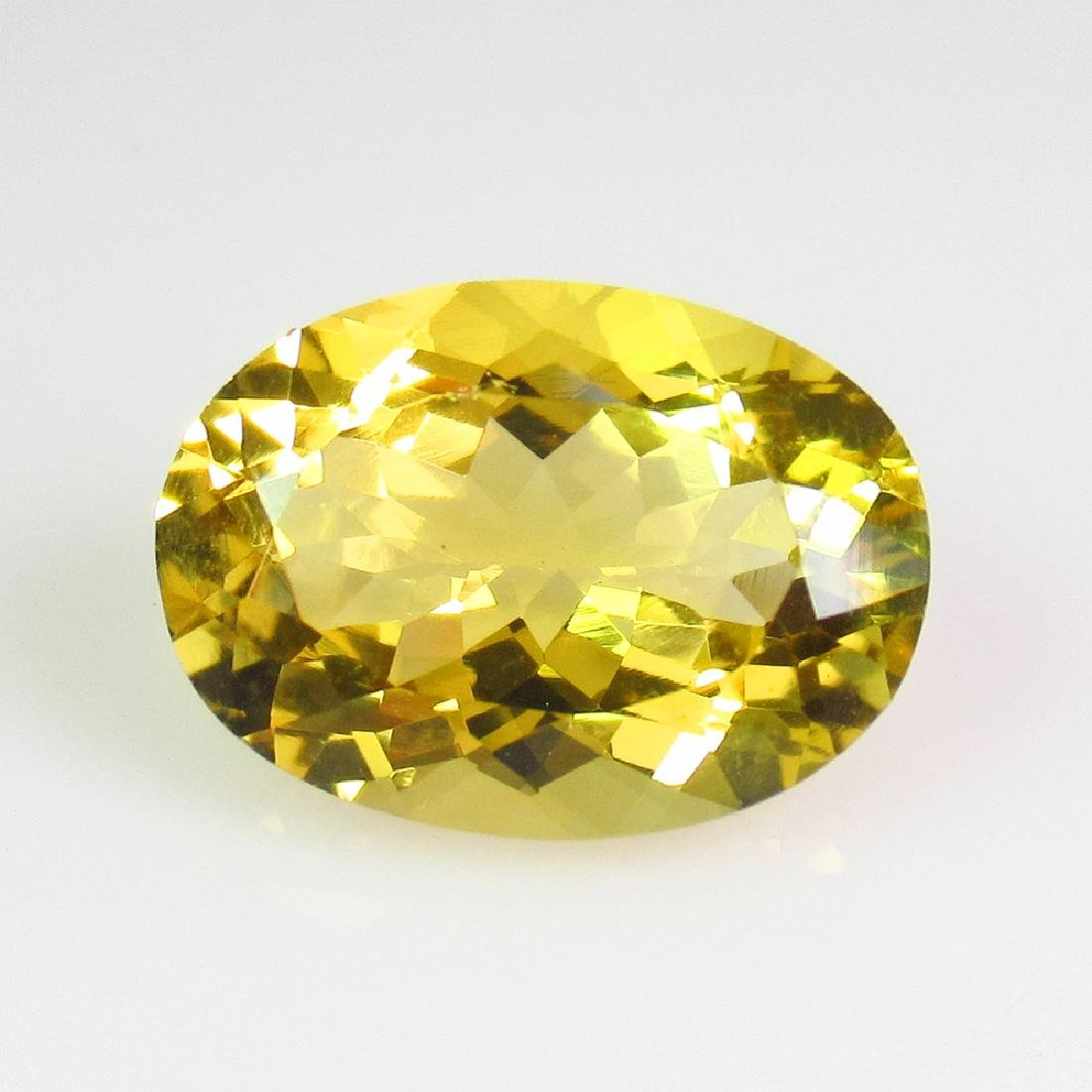 5.69 Ct Genuine Madeira Citrine 14X10 mm Oval Cut