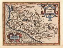 Mercator / Hondius: Atlas Minor New Spain (Mexico)