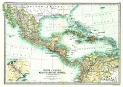 West Indies, Mexico, Central America, Columbia &C.