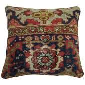 Persian Heriz Serapi Rug Pillow