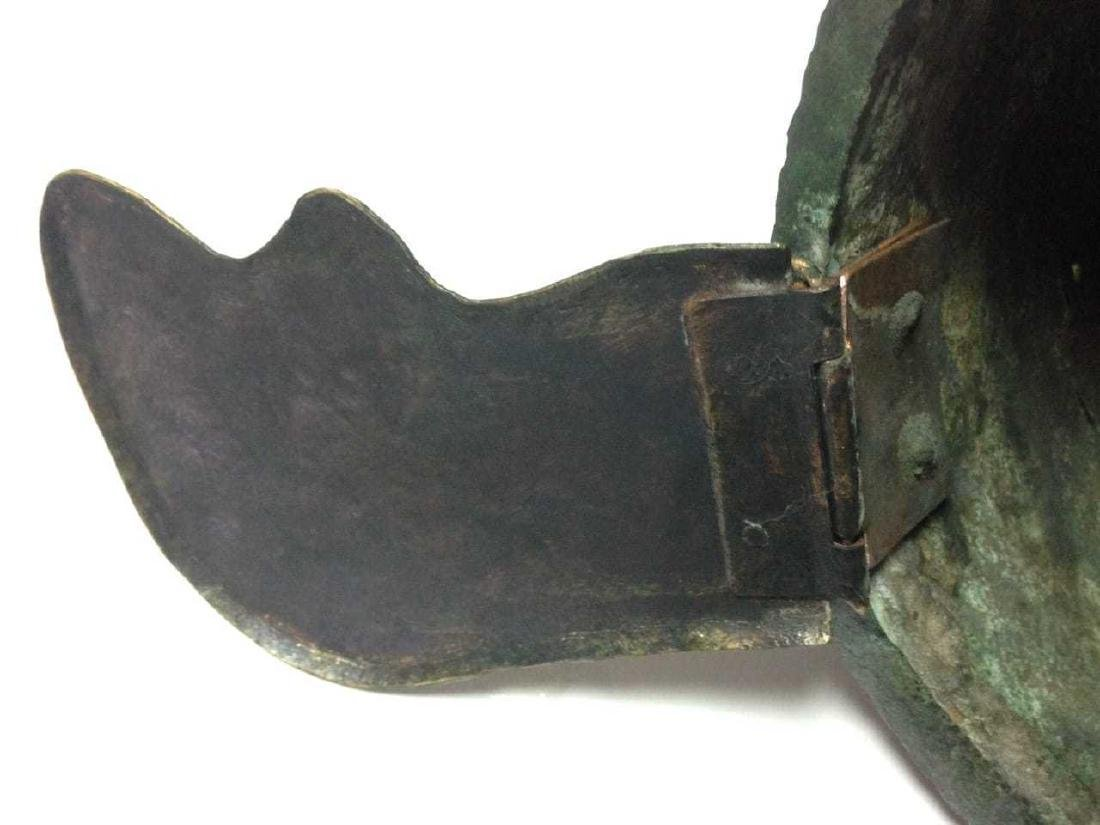 Roman Bronze Montefortino Type Helmet, Circa 3rd-1st - 10