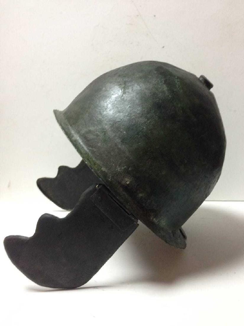 Roman Bronze Montefortino Type Helmet, Circa 3rd-1st