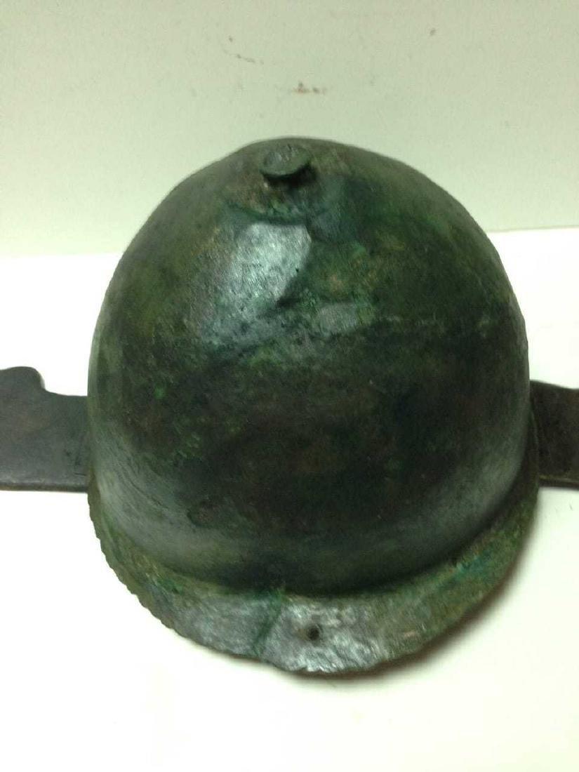Roman Bronze Montefortino Type Helmet, Circa 3rd-1st - 4