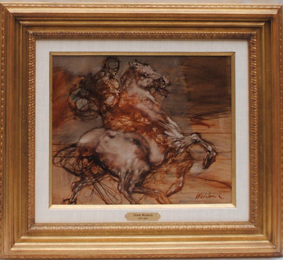 Claude Weisbuch: Le Cavalier seul au (cheval) - 2