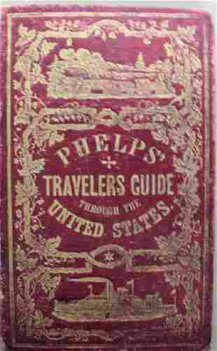 Phelps's National Map of the United States, a