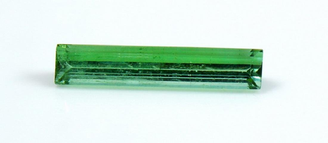 Natural & Unheated~ Green Tourmaline Faceted Cut Stone