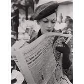 RICHARD AVEDON - Dovima, Hat by Dior, 1955