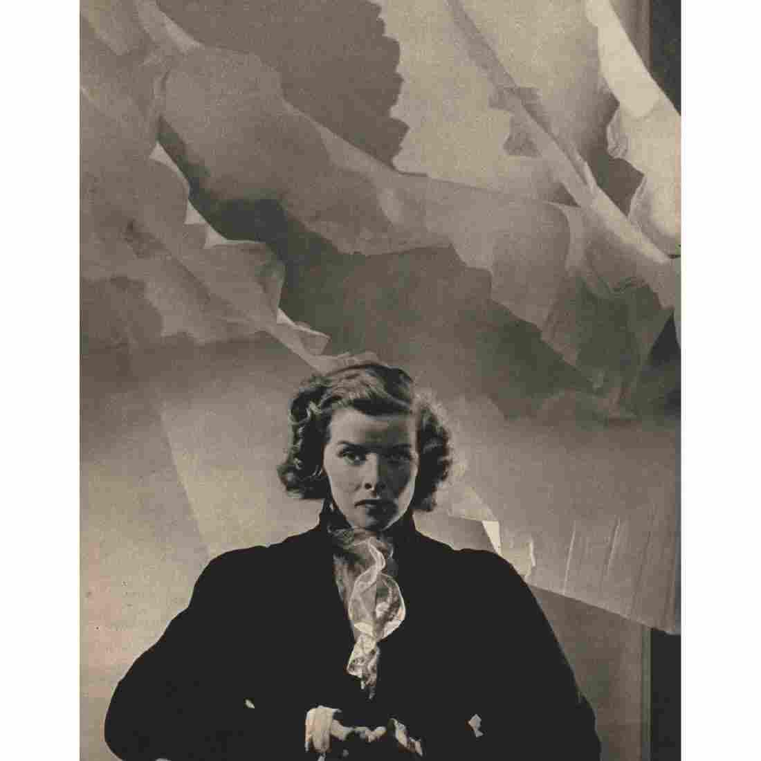CECIL BEATON - Portrait of Miss Katharine Hepburn