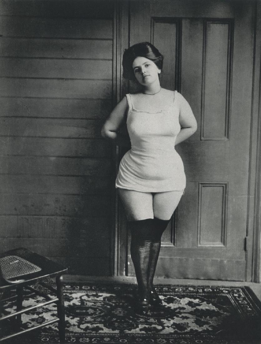 E.J. BELLOCQ - Storyville Prostitute, New Orleans, 1905