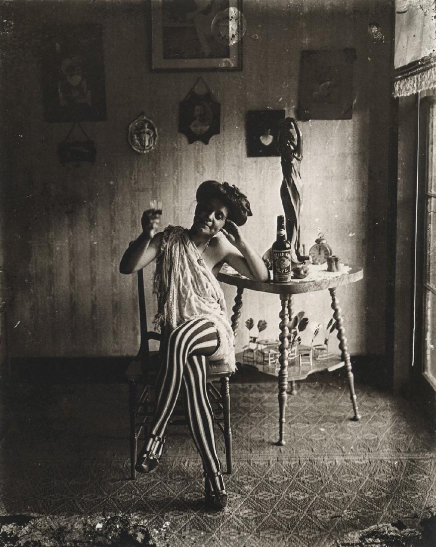 E.J. BELLOCQ - Storyville Prostitue