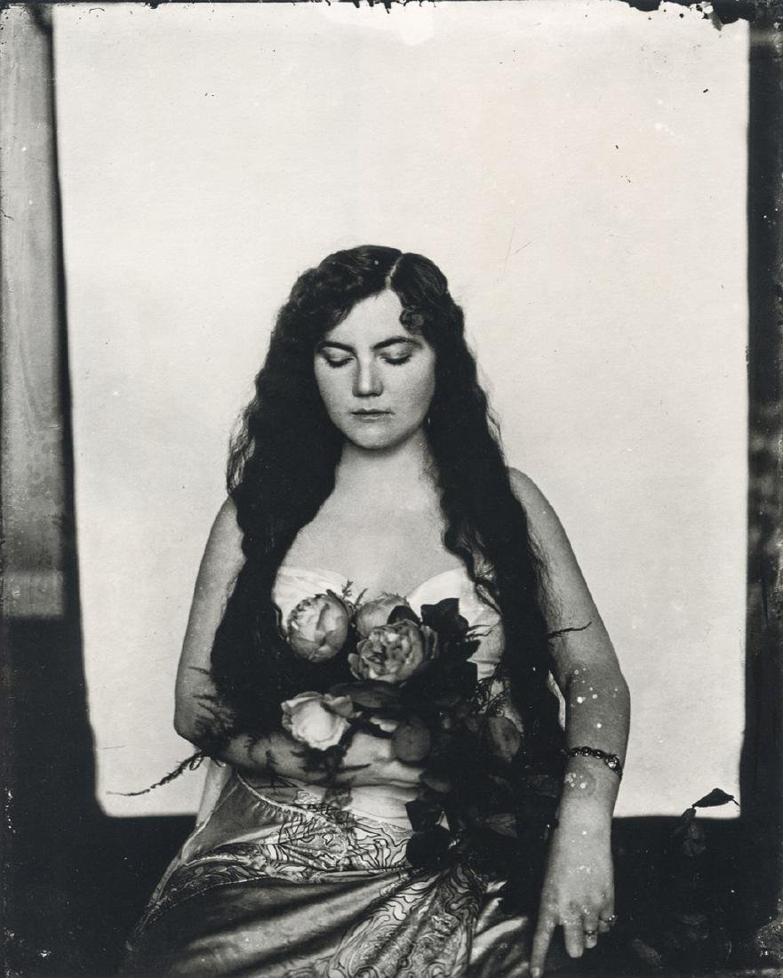 E.J. BELLOCQ - Storyville Prostitute, New Orleans, 1912