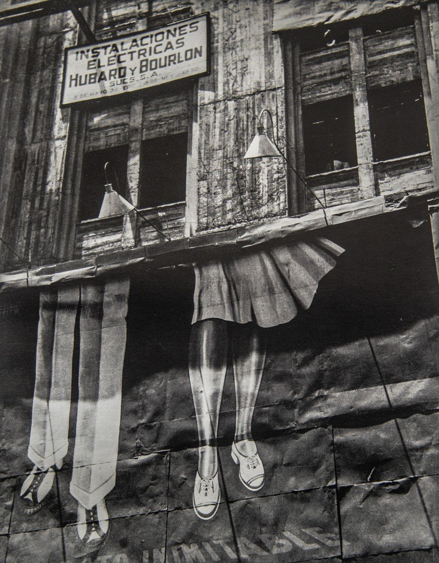 MANUEL ALVAREZ BRAVO - Two Pairs of Legs