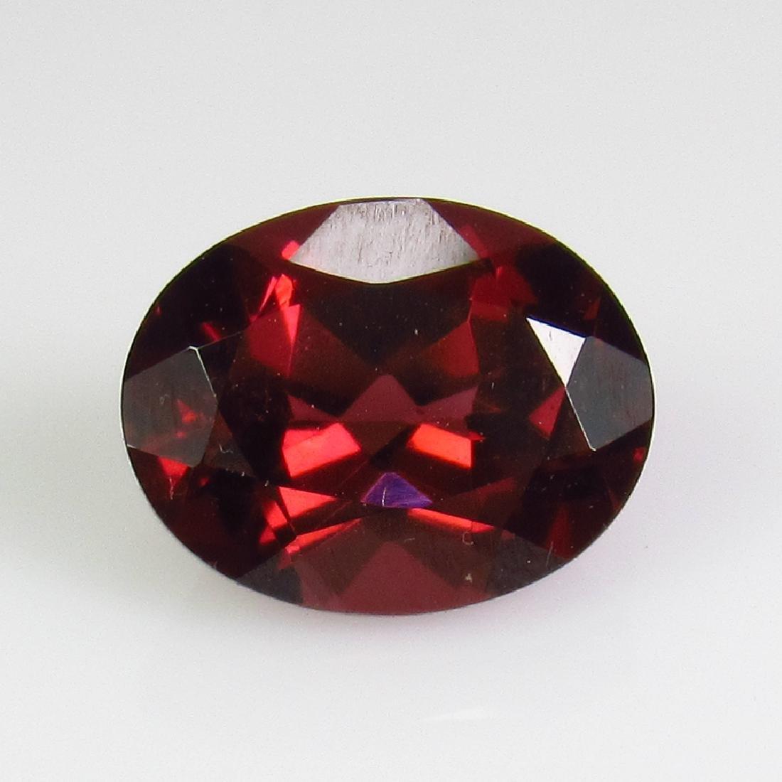 2.76 Ct Genuine Pink Rhodolite Garnet Oval Cut